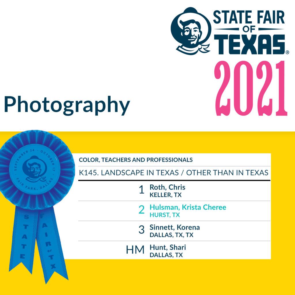 2021 State Fair of Texas Winner